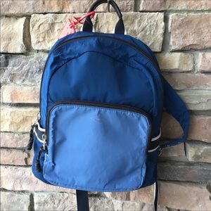 FOSSIL New with Tags Abbott Backpack Blue Multi